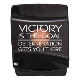 TOP Basketball Victory Slogan Backpack