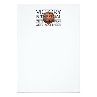 TOP Basketball Victory Slogan Card