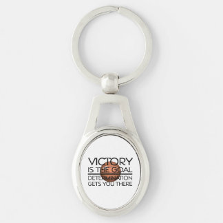 TOP Basketball Victory Slogan Keychain
