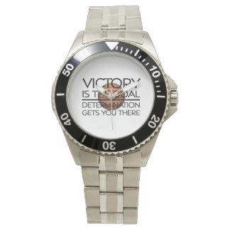 TOP Basketball Victory Slogan Wristwatch