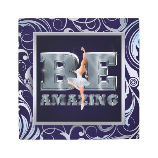 Amazing Ballet Slogan Poster