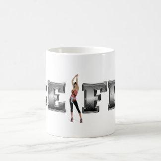 TOP Be Fit Coffee Mug