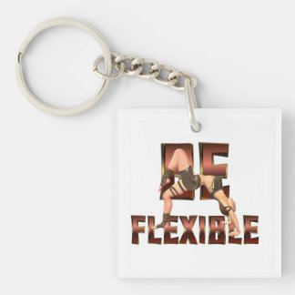 TOP Be Flexible Keychain