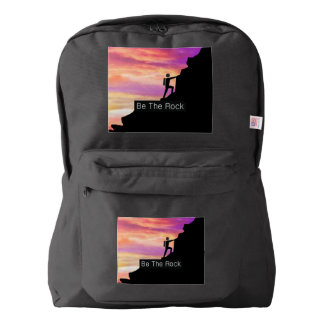 TOP Be the Rock American Apparel™ Backpack