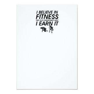 TOP Believe in Fitness Card