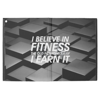 TOP Believe in Fitness iPad Pro Case