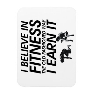 TOP Believe in Fitness Magnet