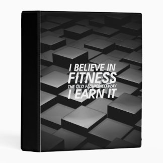 TOP Believe in Fitness Mini Binder