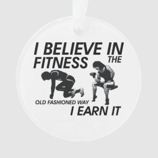 TOP Believe in Fitness Ornament