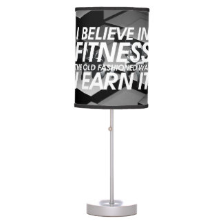 TOP Believe in Fitness Table Lamp