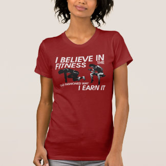 TOP Believe in Fitness Shirts