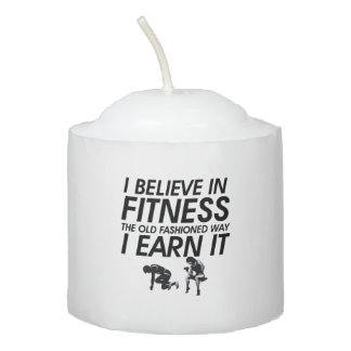 TOP Believe in Fitness Votive Candle
