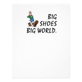 """TOP Big Shoes Big World 8.5"""" X 11"""" Flyer"""