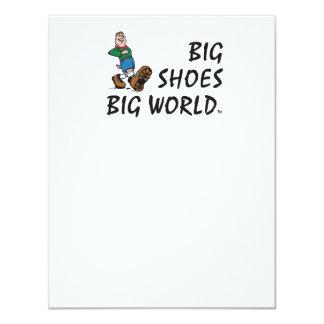 TOP Big Shoes Big World Card