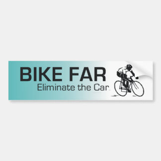 TOP Bike Far Bumper Sticker
