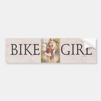 TOP Bike Girl Bumper Stickers