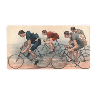 TOP Bike Race Label