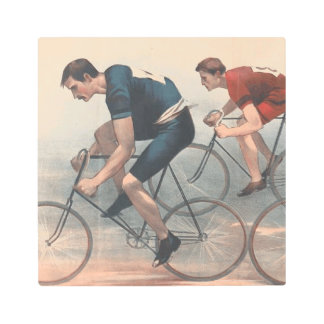 TOP Bike Race Metal Print