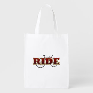 TOP Bike Ride Grocery Bag