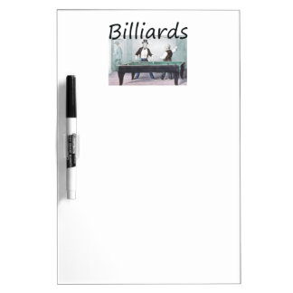TOP Billiards Dry Erase Board