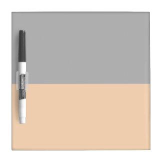 top black bottom orange DIY custom background Dry Erase Board