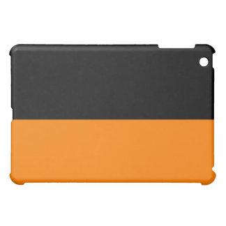 top black bottom orange DIY custom background iPad Mini Case