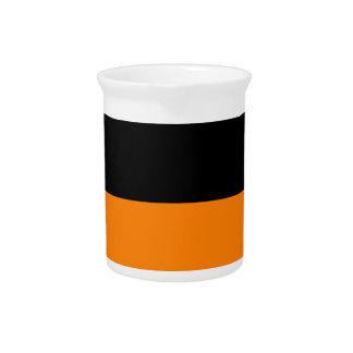 top black bottom orange DIY custom background Pitcher
