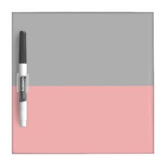 top black bottom red DIY custom background templat Dry Erase Board