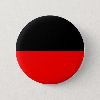 top black bottom red DIY custom background templat Pinback Button