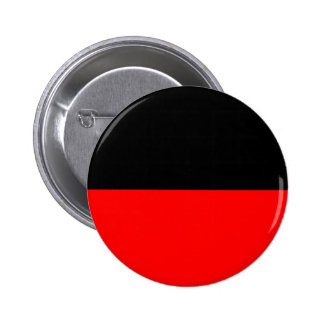 top black bottom red DIY custom background templat Pinback Button