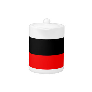 top black bottom red DIY custom background templat Teapot
