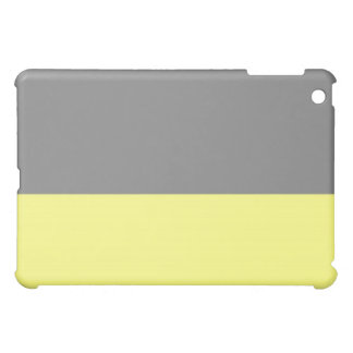 top black bottom yellow 50 lightness DIY custom Case For The iPad Mini