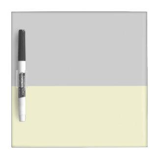 top black bottom yellow 50 lightness DIY custom Dry-Erase Board