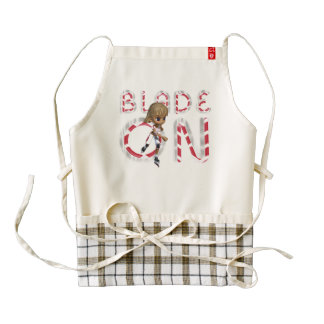 TOP Blade On Zazzle HEART Apron