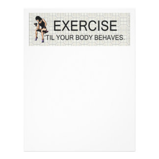 TOP Body Behaves Flyer