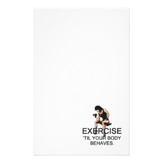 TOP Body Behaves Stationery