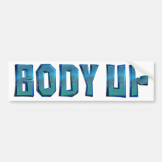 TOP Body Up Bumper Sticker