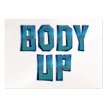 TOP Body Up Business Card Templates