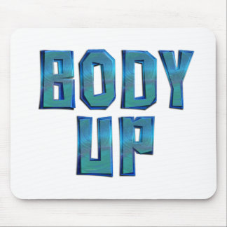 TOP Body Up Mouse Pad