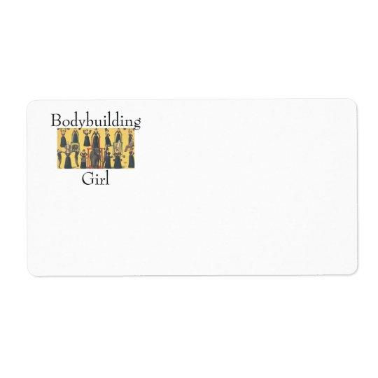 TOP Bodybuilding Girl Label