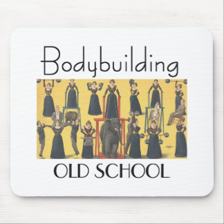 TOP Bodybuilding Girl Mousepads