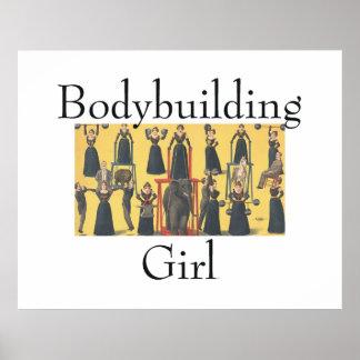 TOP Bodybuilding Girl Poster