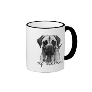 Top Boerboel Ringer Mug