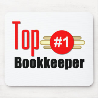 Top Bookkeeper Mousepads