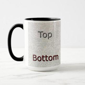 """""""Top/Bottom""""  Mug"""
