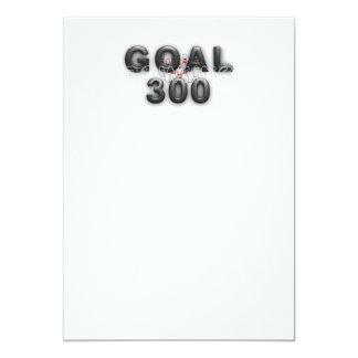 TOP Bowling Goal 300 Card
