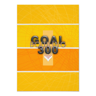 TOP Bowling Goal Card