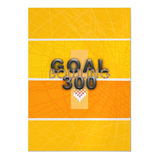 TOP Bowling Goal Magnetic Card