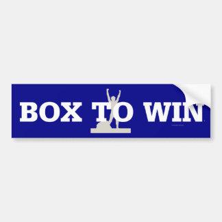 TOP Box to Win Bumper Sticker