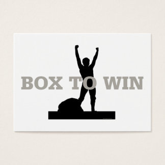 TOP Box to Win Business Card